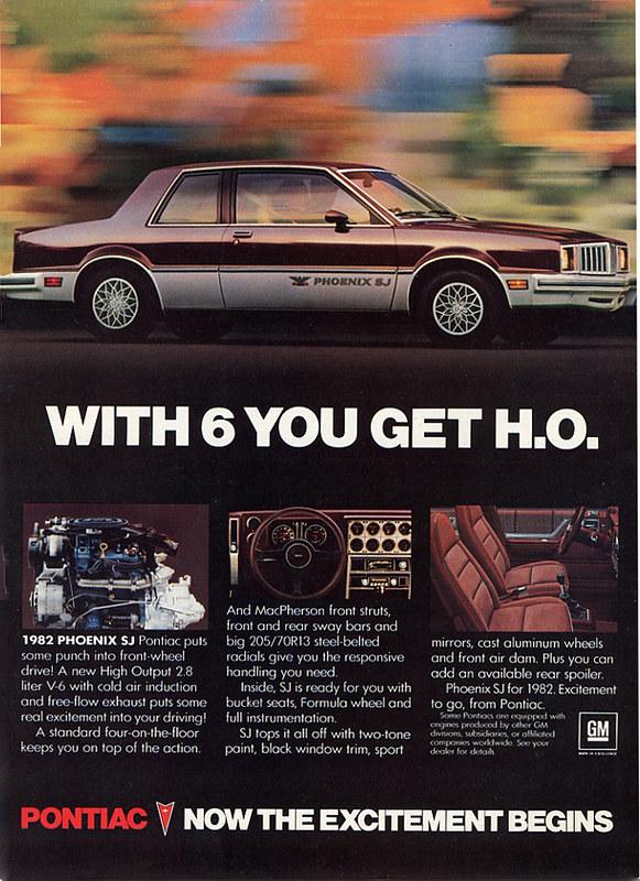 1982 Pontiac Phoenix SJ