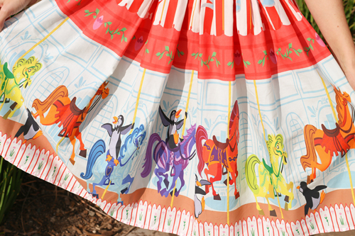 Vintage Inspired by Jackie Poppins Carousel Disneybound  Dress