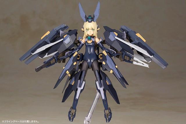 【更新官圖&販售資訊】壽屋《Frame Arms Girl 骨裝機娘》新作「潔爾菲卡兒(ゼルフィカール)」組裝模型