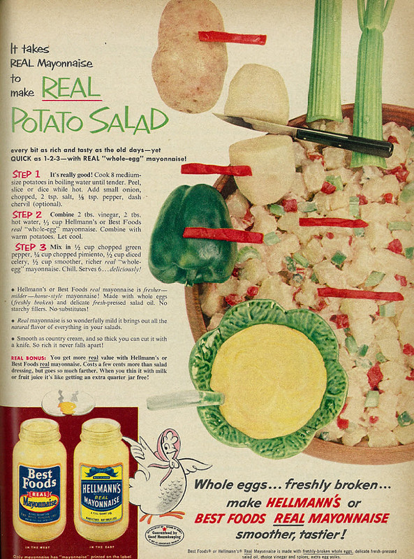 Hellmann's, Best Foods 1954