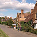The main street with Victorian estate cottages, Preston on Stour, Warwickshire