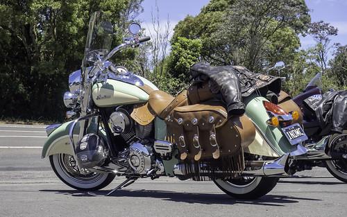 2015 Indian Chief Vintage motor cycle