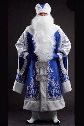 Мужской карнавальный костюм Дед Мороз Царский