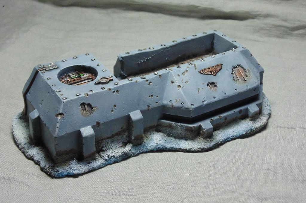 Bunker Astra militarum Hiver 1.3 par Nilval