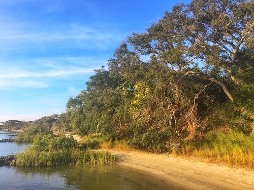 Beach along Fort Matanzas National Monument