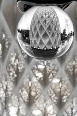 Solar gate Lensball