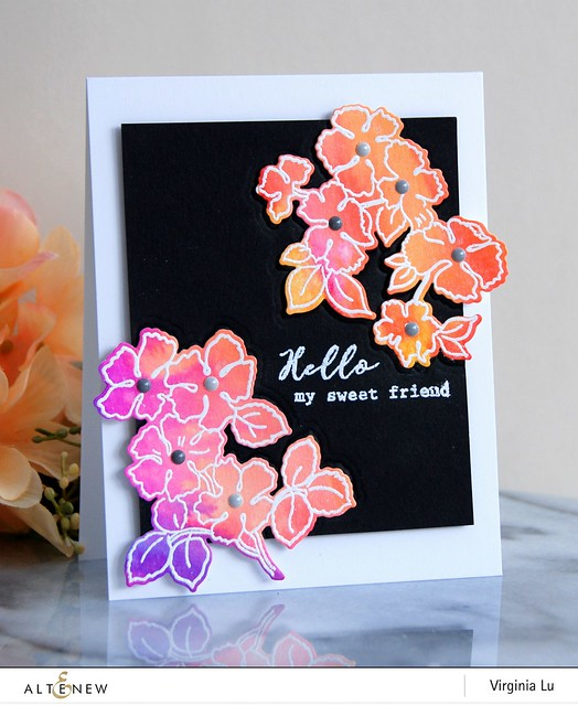 Altenew-RuffledFlowersStampDie-Virginia#1