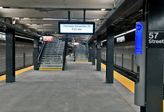 Reopening of 57 St (F) Station