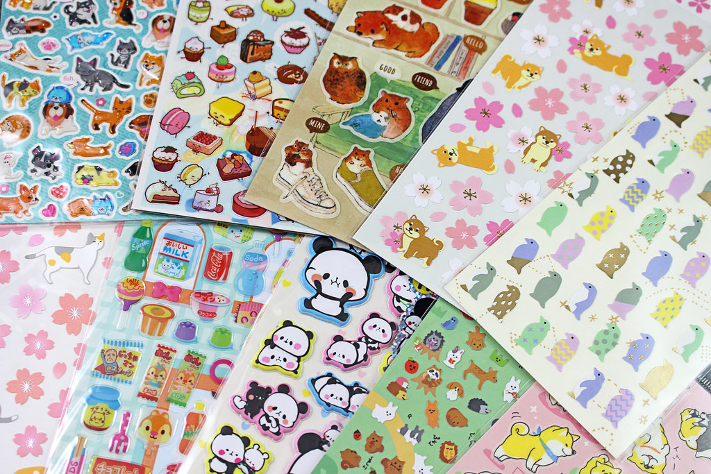 Blippo Sticker Sheets