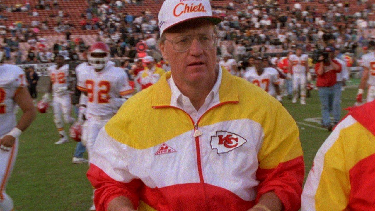 Marty Schottenheimer, head coach for the Kansas City Chiefs 1989-1998