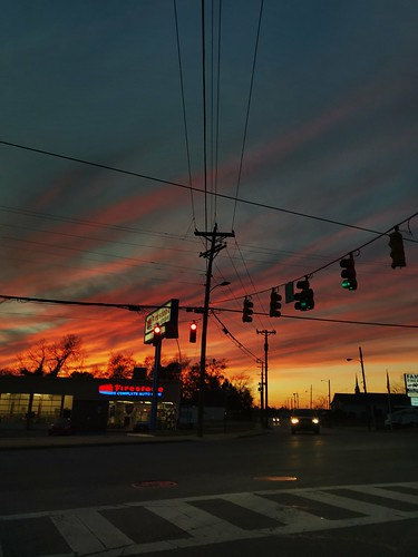 Intersection Sunset