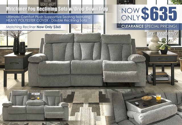 Mitchiner Fog Reclining Sofa wDrop Down Tray_Clearance_76204-89-SET-ALT_ALT