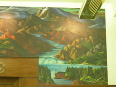 Anchorage AK US Courthouse Mural