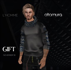 "::AG:: ""SHOWER"" L'homme gift November 2018"
