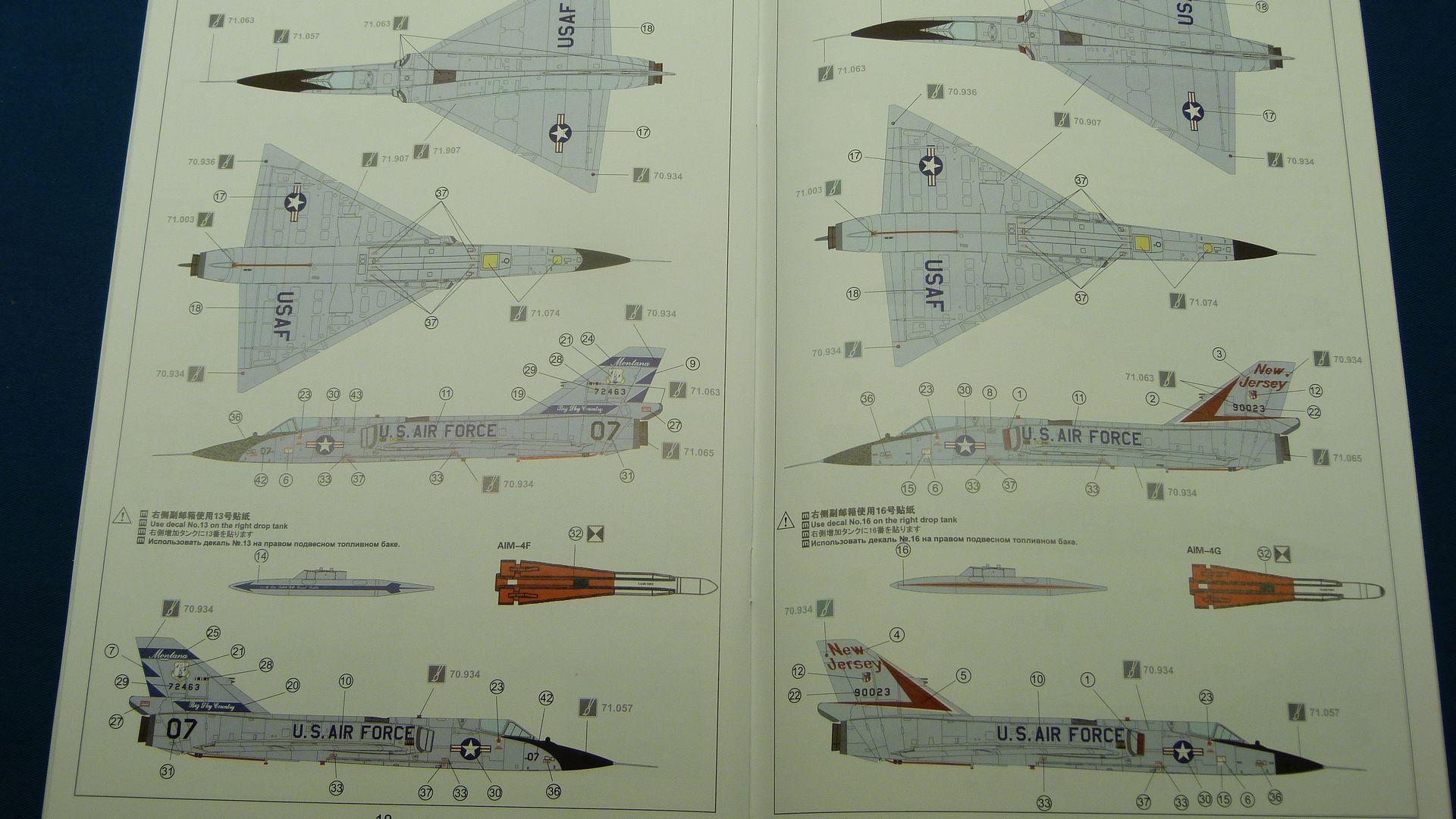 Meng Deltavingar, F-102 och F-106, 1/72 30942510727_98308f4119_o
