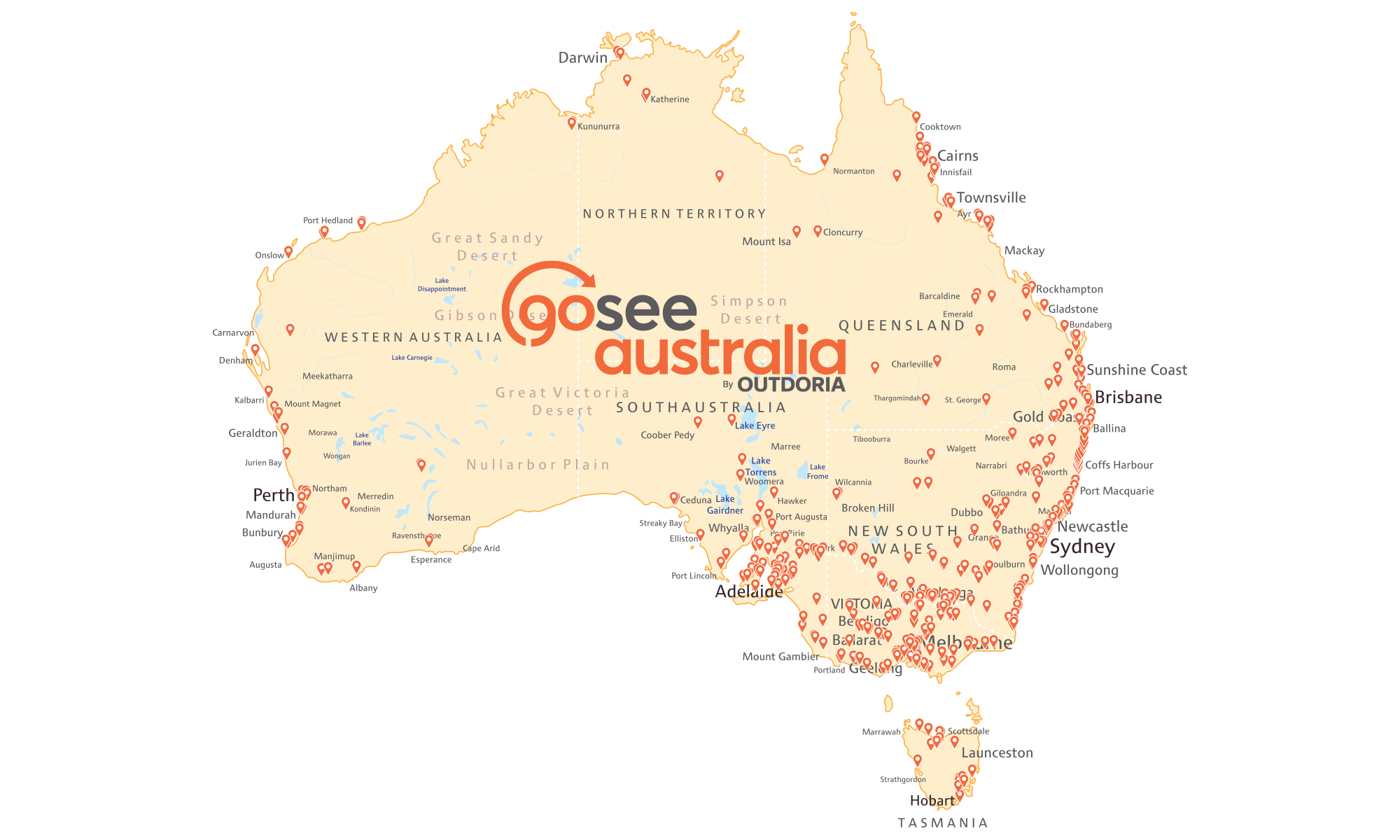 GoSeeAustralia-Map