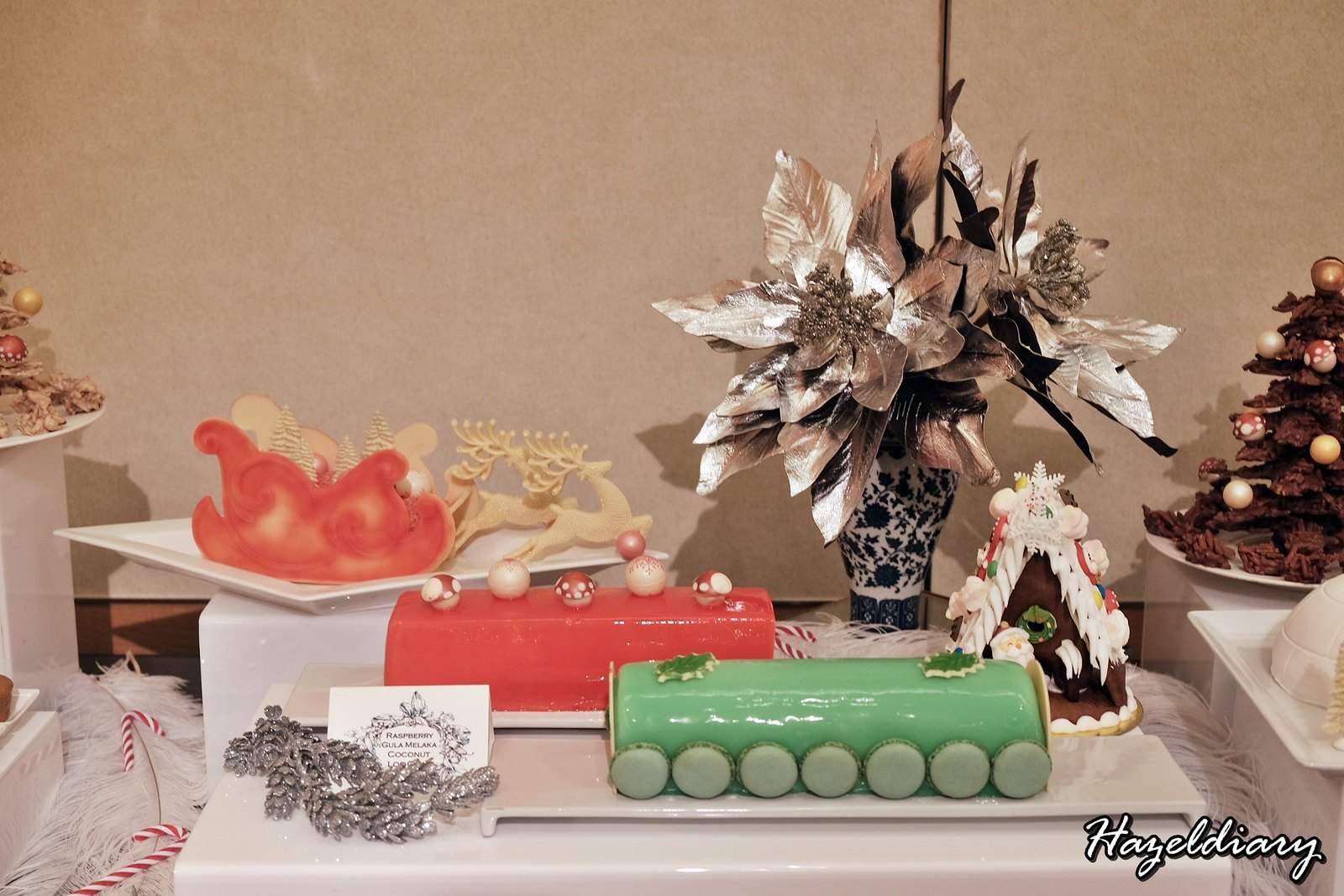 Singapore Marriott Tang Hotel-Christmas Dessert-Logcakes