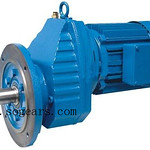 RX series Single Stage Helical Gearmotors