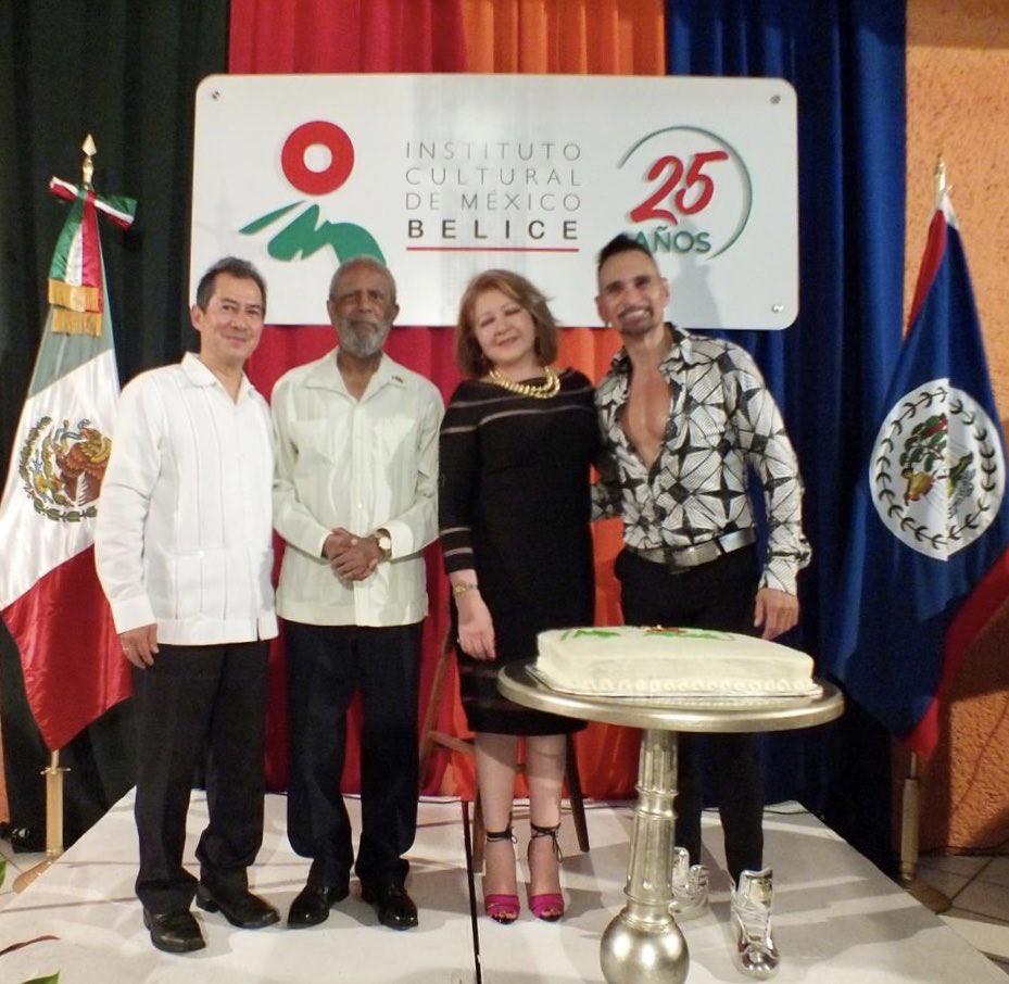 XXV Aniversario del Instituto Cultural de México en Belice