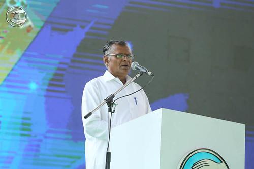 A speech in Banjara by Ful Singh Rathod, Yavatmal, MH