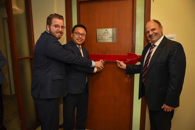 Lançamento da Parceria Huawei e Senai PR