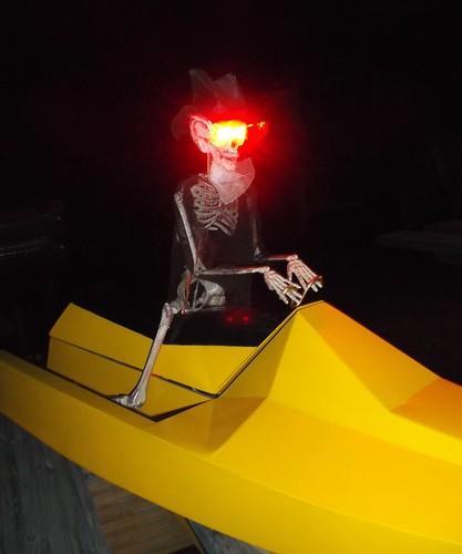 Demonic model boater