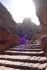 Hike Up to the Treasury Viewpoint in Petra (1)