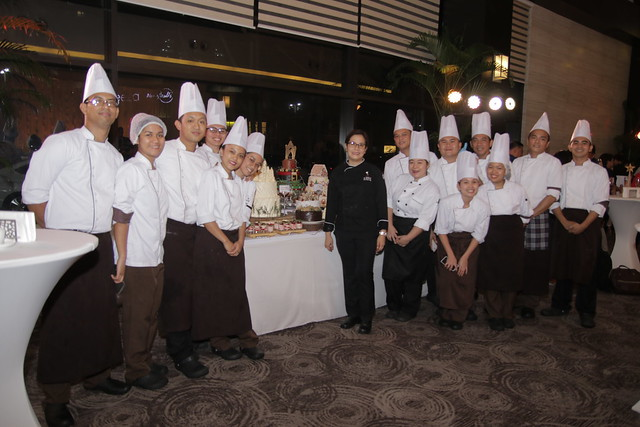 Seda Abreeza's Culinary Team with Executive Sous Chef Bang Sibala