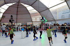 Unreal Ice Rink in Mafra