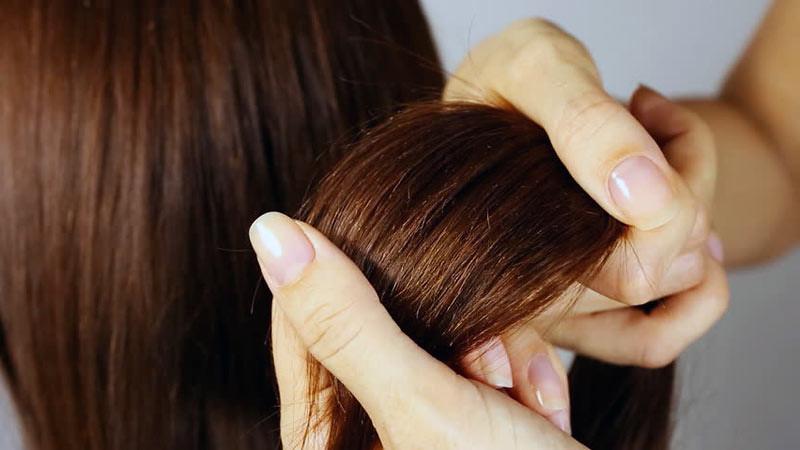 Rambut bercabang diperlukan perlakukan khusus.