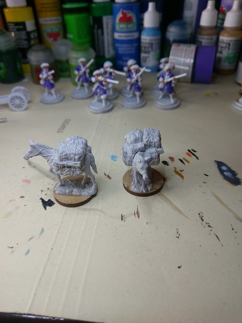 #WIP Blood and plunder pack mules from WhizKids