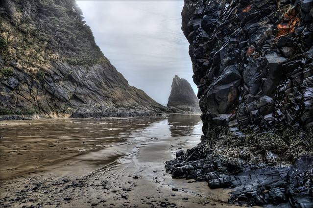 Cannon Beach, Oregon / Arcadia Beach What The Ocean Can Create January 2019