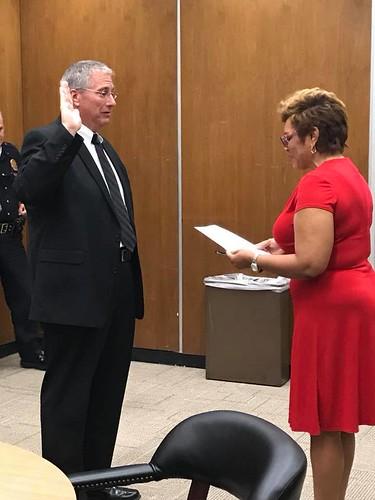 New Police Commissioner Sworn In
