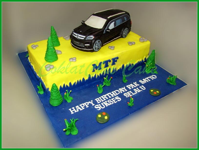 Cake Mercedes GL 500  PAK SATYO 20x40 cm