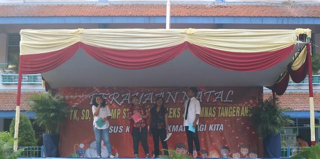 Perayaan Natal Kompleks TK, SD, dan SMP Strada Perumnas Tangerang