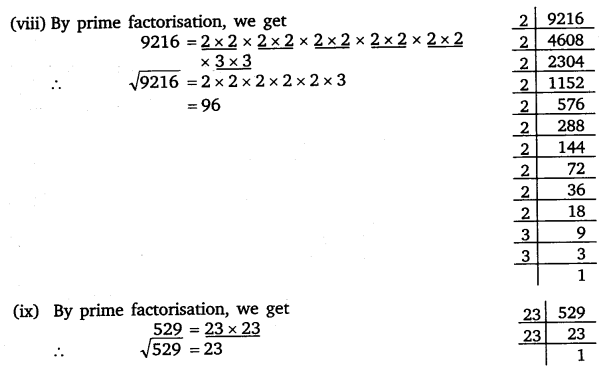 NCERT Solutions for Class 8 Maths Chapter 6 Squares and Square Roots 7