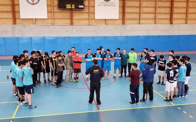 Cuadrangular de Handball ISV – USS