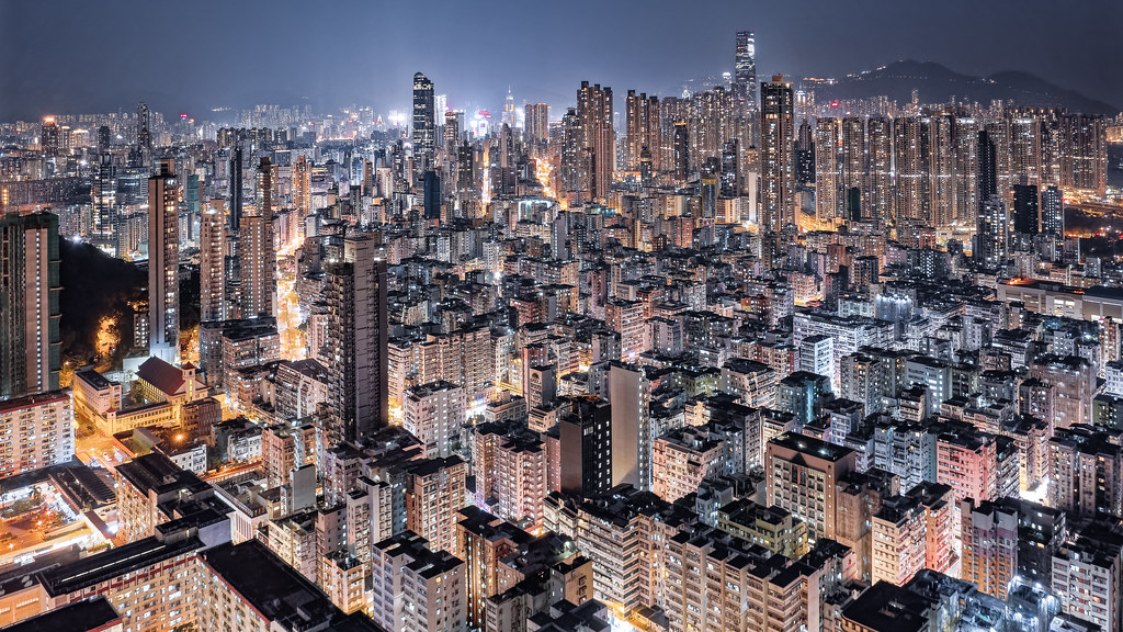 Night of Kowloon, Hong Kong