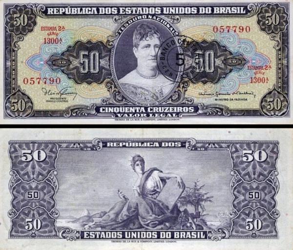 5 centavos Brazília 1966, P184a