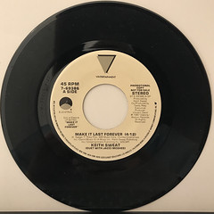 KEITH SWEAT:MAKE IT LAST FOREVER(RECORD SIDE-A)