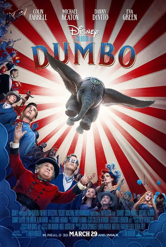 dumbo de Tim Burton 44975275865_81d56f2638_c