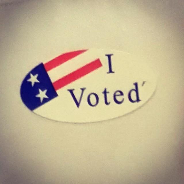 I #voted