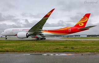 F-WZFD Airbus A350 Hong Kong Airlines