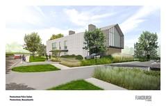 2018 Police Station Render - Flansburgh