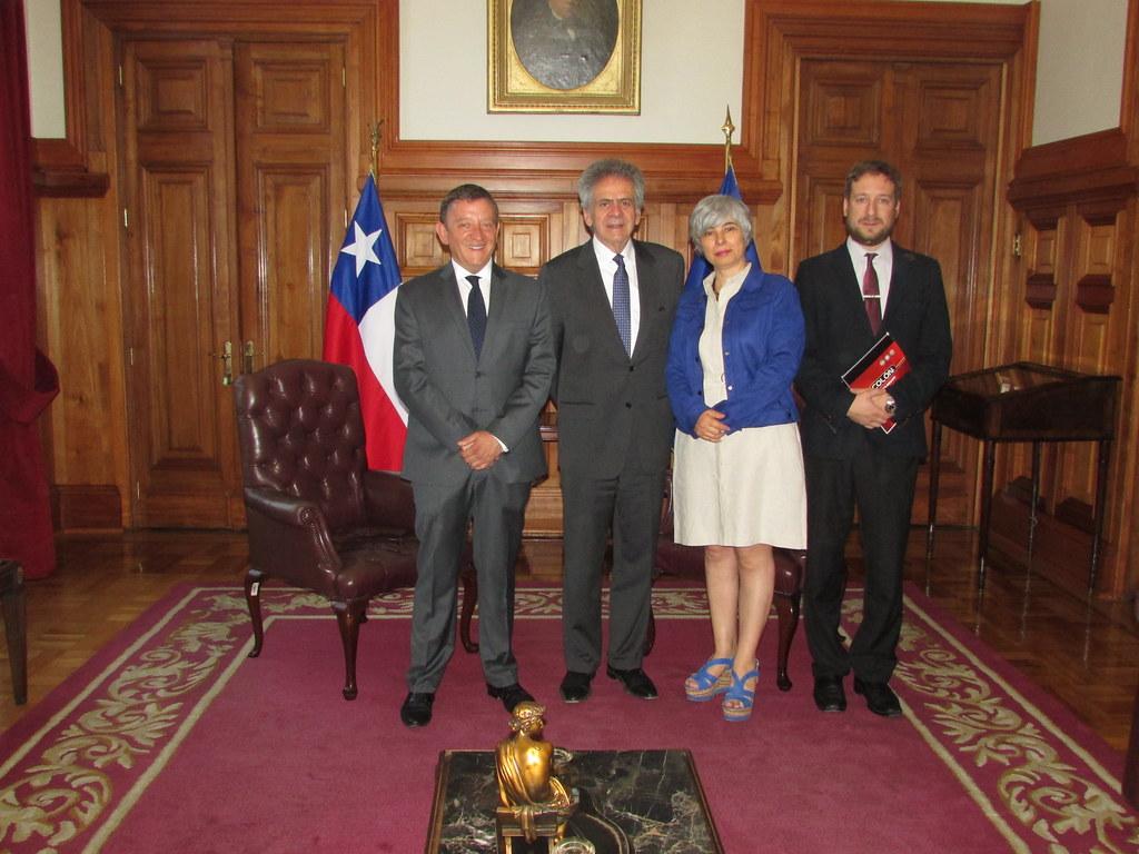 FENADAJ se reúne con presidente de la Corte Suprema, Haroldo Brito - 20 Nov. 2018