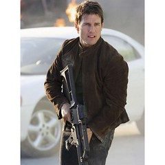 Tom Cruise Mission Impossible 3 Suede Leather Jacket 4