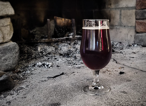 A warming St. Bernardus Christmas Ale
