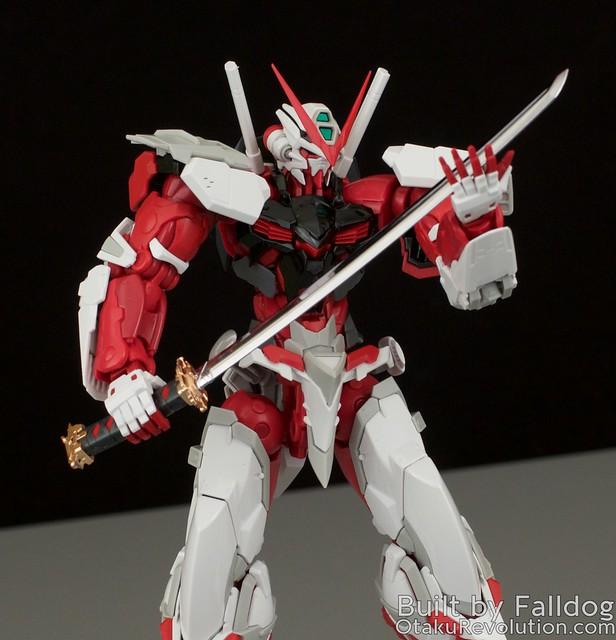 HiRM Astray Red Frame Gundam 30