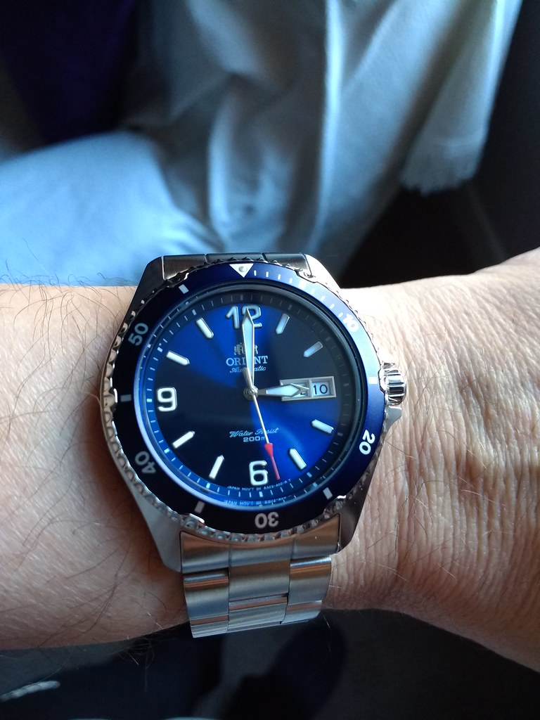 Orient Macko II Automatic Watch FAA02002D9