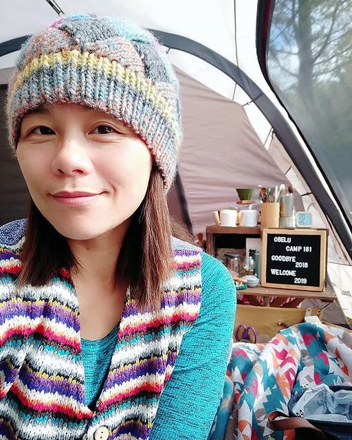 20181229 今天有溫暖的陽光 真的好舒服啊 #歐北露 #campinglife #ilovecamping #campingselfie #喜歡自己拍自己